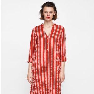 2324d1be7dc Women s Red Zara Striped Dress on Poshmark